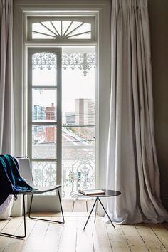 balcony - french doors  | fiona lynch