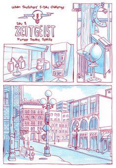 Urban Sketchers 5-Day Challenge