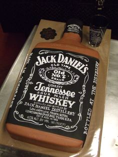 Jack Daniel's Birthday Cake   EK Cakes Gallery