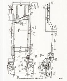 XJ Frame Drawing