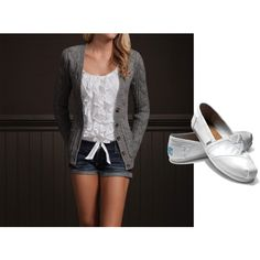 Cute Hollister outfit (:, created by cheerleader13-3 on Polyvore