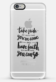 """Take Pride, Have Faith. Phone case by eugeniaclara   Casetify.  -  I sell phone cases on Casetify!  Get $10 discount for your first order + free worldwide shipping by using """"KEX2NU"""" before checkout. [YES, if you want custom lettering for the cases, I might be able to make one]  #typography #case #casetify #phonecase #havefaith"""