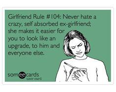 Crazy ex-girlfriends | A message for my husband's crazy ex-girlfriend