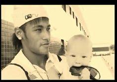 Neymar and David Luca