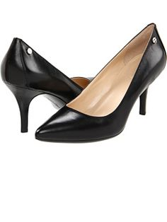 Calvin Klein at Zappos. Free shipping, free returns, more happiness!     I needed a new pair of pumps for work since I only had one pair (I know - one pair of black pumps?!)
