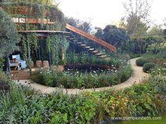 Nick Bailey and The Winton Beauty of Mathematics Garden - Pumpkin Beth Water Features In The Garden, Garden Features, Plant Design, Garden Design, Rain Garden, Garden Path, Garden Ideas, Unusual Plants, Garden Buildings