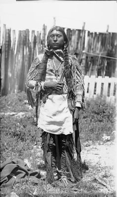 A Comanche Indian, 1891.