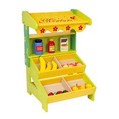 Pequeña tienda de juguete de #madera educativo para #niños #educacion