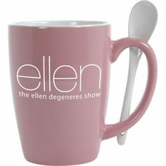 The Ellen DeGeneres Show Shop - MUG  SPOON COMBO