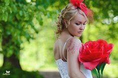 Как сделать огромную розу из бумаги своими руками