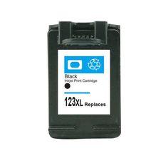 Cartridge For HP 123 Black Ink Cartridge For HP Officejet 3830 4650 4655 4512 4516 4520 Deskjet 2130 1112 3630 3632 3635 Printer