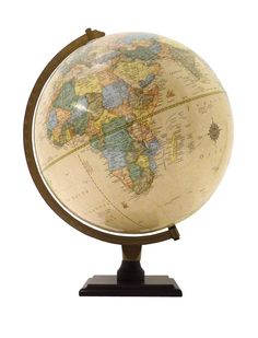 The Bradley Antique Globe terrestre 30 cm: Amazon.fr: Cuisine & Maison