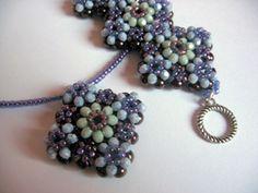 Pattern bijoux: Fiori di porcellana