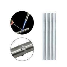 Aluminum Tig Welding Rods 10 PCS 3.2mmx450m Low Temp Brazing Rod Welder Torch