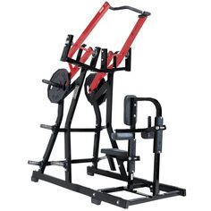 Hammer Strength Plate-Loaded Iso-Lateral Front Lat Pulldown | Life Fitness