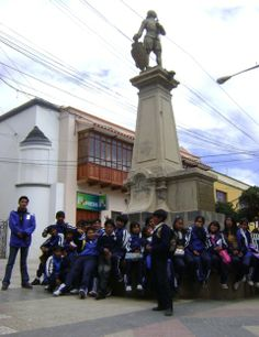 City Tours: Gesta Libertaria Potosí. Plaza Alonso de Ibañez