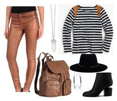 """""""Untitled #194"""" by anaj-7 on Polyvore featuring J.Crew, Henry & Belle, Alexander Wang, H&M, Zimmermann and Ippolita"""