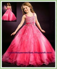 854f1d3e6 vestidos para niñas de 8 años - Buscar con Google Vestidos De Fiesta Para  Niñas,