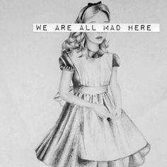 Alice in wonderland, mad disney Alice And Wonderland Quotes, Adventures In Wonderland, Alice In Wonderland Artwork, Stevie Wonder, Go Ask Alice, Mia Wasikowska, Arte Disney, Punk Disney, Disney Magic