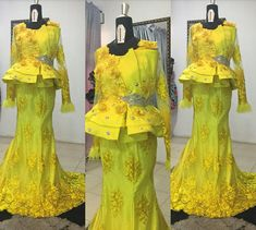 Lace Skirt & Blouse Styles For Gorgeous Madams - Hairstyles Latest Lace Styles, Lace Skirt And Blouse, Gown Skirt, African Lace, Kitenge, Blouse Styles, Gowns, Hair Styles, Skirts