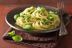 3 rețete sănătoase pentru o cină rapidă — Doza de Sănătate Pasta Integral, Salsa Pesto, Linguine, Paella, Spaghetti, Vegan, Ethnic Recipes, Fitness, Diet