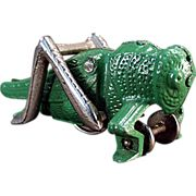 Old, Hubley, Cast Iron Grasshopper Pull Toy Pull Along Toys, Pull Toy, It Cast, Cast Iron