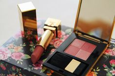 Salad Of My Life: YSL cosmetics: lipstick & blusher
