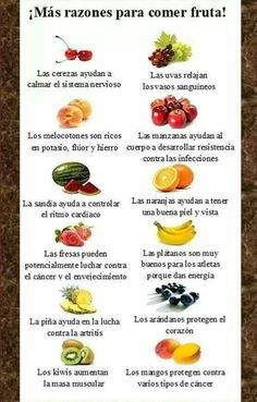 Fruta, aparte de deliciosa buenisima!