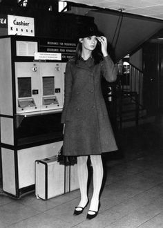 One of the world's first supermodels, Shrimpton appeared on the cover of countless magazines, helped to launch the miniskirt, and ushered in a new era of skinny long-legged models. Her fringe and pout are the stuff of legend.. vintage everyday: 60 Iconic Women Who Prove Style Peaked in the '60s