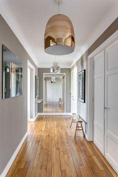 Home - Mon Concept Habitation # accueil Parisian Apartment, First Apartment, Renovation Parquet, Appartement Design, Furniture Board, Concept Home, Grey Paint, Poses, Bohemian Decor