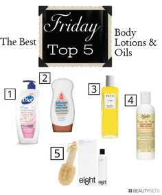 the best lotions and oils for baby smooth skin without the greasy feel! #beautyblogger