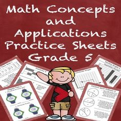 These NO PREP PRACTICE SHEETS ARE FOR SPECIAL EDUCATION STUDENTS WHO ARE PROGRESS MONITORED AT A 5TH GRADE LEVEL. …