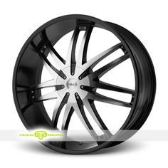Helo HE868 Machined Black Wheels For Sale - For more info: http://www.wheelhero.com/customwheels/Helo/HE868-Machined-Black