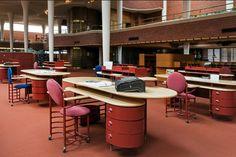 Johnson Wax Headquarters | Racine, Wisconsin | Frank Lloyd Wright | photo by photo by William Zbaren