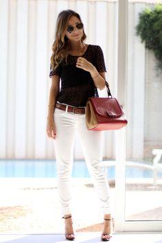 Neste calor, um Look com Calça Branca fica chic, elegante e bonito, não é verdade?! Mas qual a Calça Branca ideal para o seu tipo físico? Infelizmente não são todas as mulheres que ficam bemcomcalça branca skinny, por exemplo, por isso resolvi fazer este post para todas as mulheres usarem calça branca, mas da maneira …