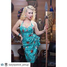 http://ift.tt/1NjjcPH #Pinuppost @ladylipstick_pinup Im mostly a lady unless I need to be a warrior and then you better watch out. Model/ MUAH: @ladylipstick_pinup Photographer: @chrisgomezphotography Modeling Dress: @ainselkestylehaus #ainselkestylehaus Hair Product: @beautyandpinups Tiki: @tiki_tonz #lady lipstick #chrisgomez #missportnationals #vintage #vintage hair #pinup #pinupmodel #pinupbabe #pinupfashion #midcentury #midcenturymodern #swingdress #petticoat #lavidarockabilly…