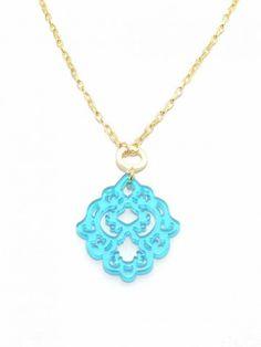 Zenzii - Dare to Deco Pendant Necklace