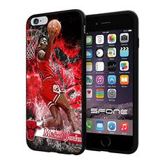 "Michael Jordan Legend #1226 Basketball iPhone 6 Plus I6+ (5.5"") Case Protection Scratch Proof Soft Case Cover Protector SURIYAN http://www.amazon.com/dp/B00X3PDQZU/ref=cm_sw_r_pi_dp_EvOxvb05ST380"