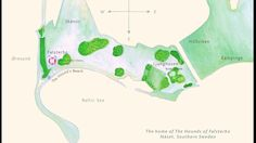 The home of The Hounds of Falsterbo- Näset, Southern Sweden. The non-fictional lives of three splendid dogs and their beach adventures. This map is featured in all the books in the series