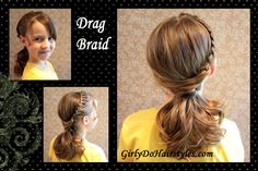 Girly Do's By Jenn: Drag Braid