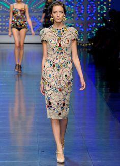 #dolce #gabbana #fashion #runway #couture