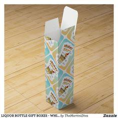 LIQUOR BOTTLE GIFT BOXES - WHISKEY SOUR RECIPE ART WINE BOTTLE BOXES