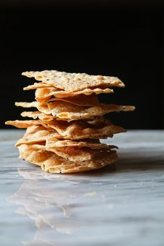 Home made cheese crackers