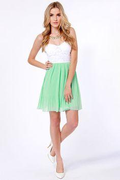 Green Dress for Juniors