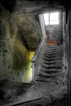 #abandoned #places #ruins #haunted #ghost #town #wrecked #deserted #worn #neglected