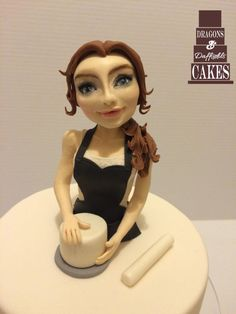 Domestic goddess  by Dragons and Daffodils Cakes