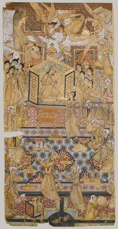 The Queen of Sheba Enthroned [Iran] (1979.518.1) | Heilbrunn Timeline of Art History | The Metropolitan Museum of Art