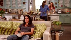 Another view of Maura Isles' kitchen.