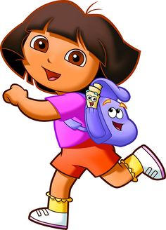 Dora the Explorer: Free Printable Toppers and Images.   Oh My Fiesta! in english