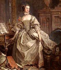 La Marquise de Pompadour, favorite of Louis XV.